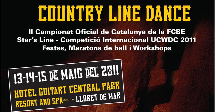 II Campionat de Catalunya Country Linedance. Resultats i Imatges