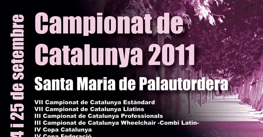III Campionats Catalunya 2011 Whelchair. Resultats