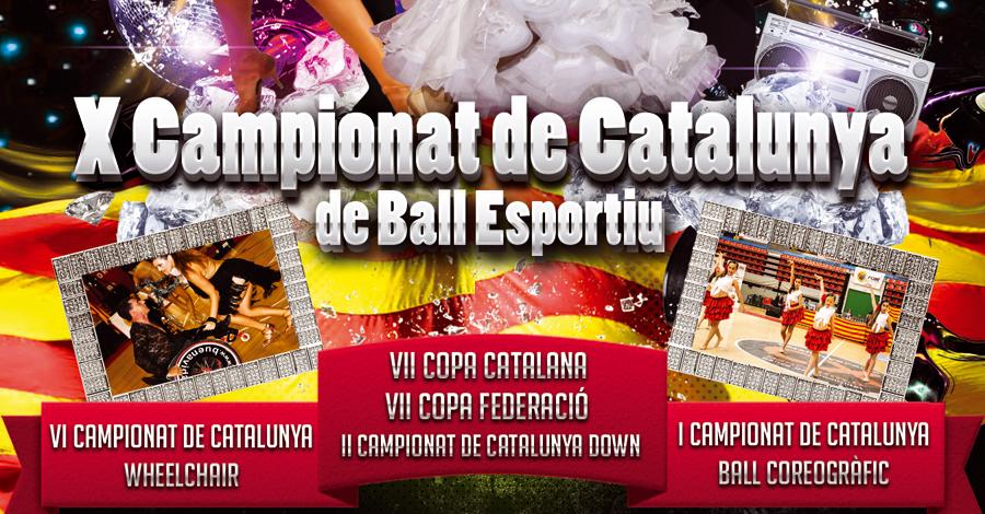 II Campionats de Catalunya 2014. Down Latin