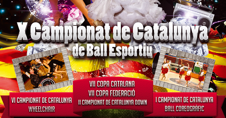VI Campionats de Catalunya 2014. Wheelchair Combi Latin