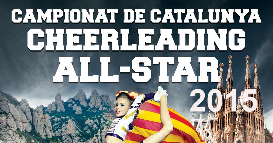 I Campionat de Catalunya Cheerleading 2015. Resultats