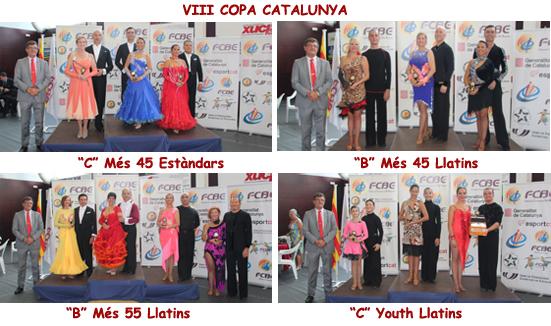 Campionats de Catalunya 2015. Imatges dels Pòdiums  | Federació Catalana de Ball Esportiu