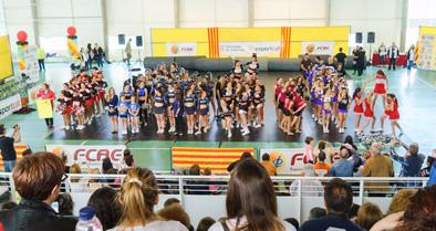 II Campionat de Catalunya Cheerleading & Cheer Dance. Imatges pòdiums    Federació Catalana de Ball Esportiu
