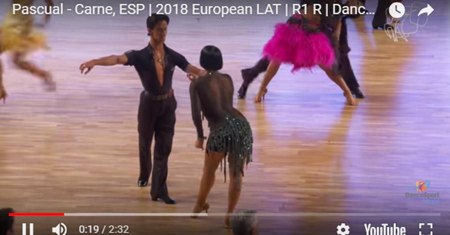 Rosa i Guillem finalistes al WDSF European Championship Latin 2018