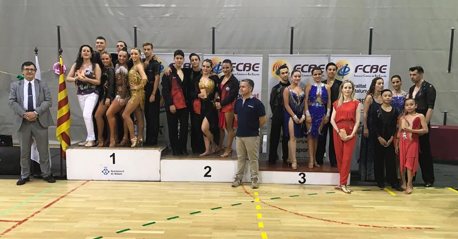 IX Campionats Catalunya Clubs 2018. Imatges Pòdiums