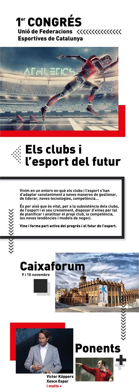1r Congrés UFEC: Els Clubs i l'esport del futur   | Federació Catalana de Ball Esportiu
