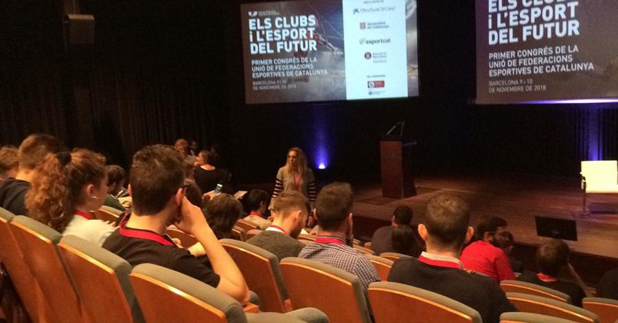 Realització 1r Congrés UFEC: Els Clubs i l'esport del futur