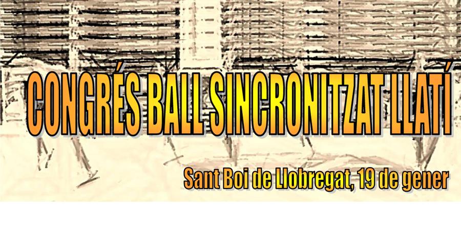 Congrés Ball Sincronitzat Llatí. Pre-inscripció