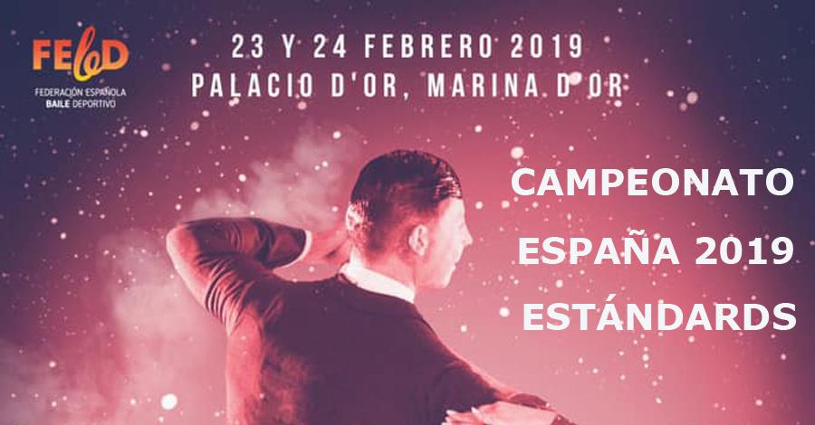 Resultats Campionat d'Espanya 2019 - Balls Estàndards