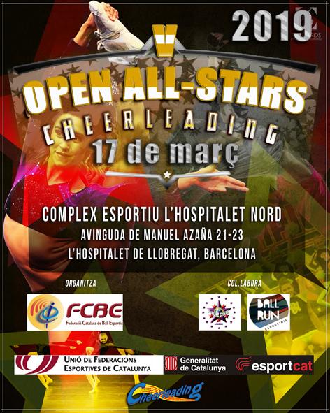 V Open Cheerleading 2019    Federació Catalana de Ball Esportiu