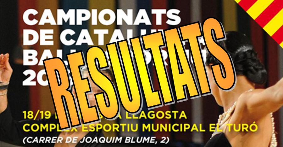 Campionats de Catalunya de Ball Esportiu. Resultats