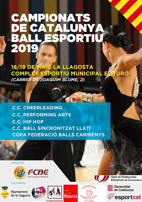 Campionats de Catalunya de Ball Esportiu. Pòster   | Federació Catalana de Ball Esportiu