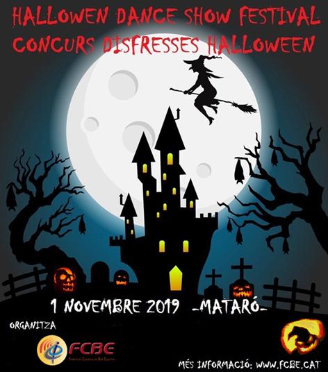 Halloween Dance Show Festival 2019 | Federació Catalana de Ball Esportiu