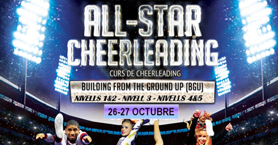 Cursos Instructors All Star Cheerleading BGU - FCBE 2019