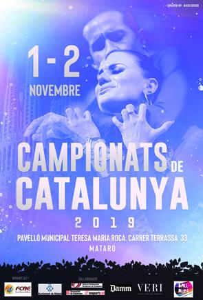 Campionats de Catalunya 2019 (Estàndards i Llatins)