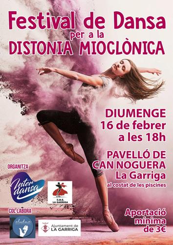 Festival de Dansa per a la Distonia  Mioclònica | Federació Catalana de Ball Esportiu