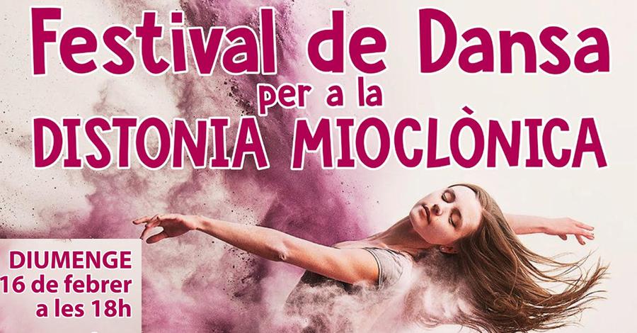 Festival de Dansa per a la Distonia  Mioclònica