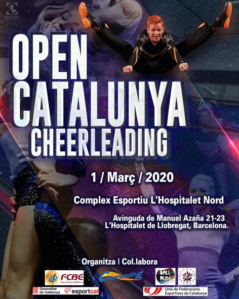 VI Open Catalunya Cheerleading 2020. Informació i Fulls d'Inscripció  | Federació Catalana de Ball Esportiu