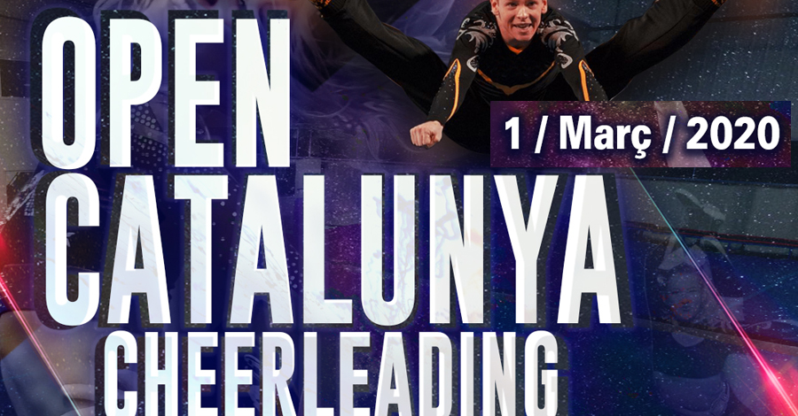 VI Open Catalunya Cheerleading 2020. Póster