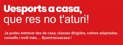 Que res no t'aturi!!!. En forma, entrenant a casa | Federació Catalana de Ball Esportiu
