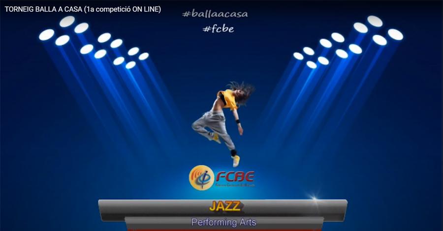 1r Torneig Balla a Casa. Performing Arts - 1r grup Solo JAZZ Juvenil