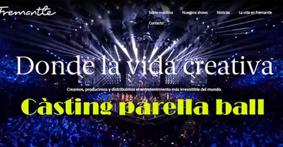 Càsting parelles ball per a Got Talent Espanya