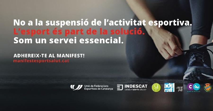 Adhesió al manifest: L'ESPORT ÉS SALUT