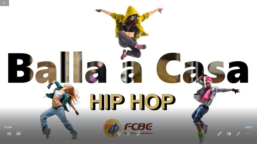 1r Torneig Balla a Casa. Hip Hop (Infantil i Júnior - Absolut)