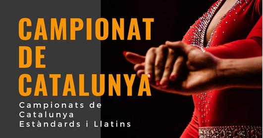 Ajornament del Campionat de Catalunya Absolut 2020 | Federació Catalana de Ball Esportiu