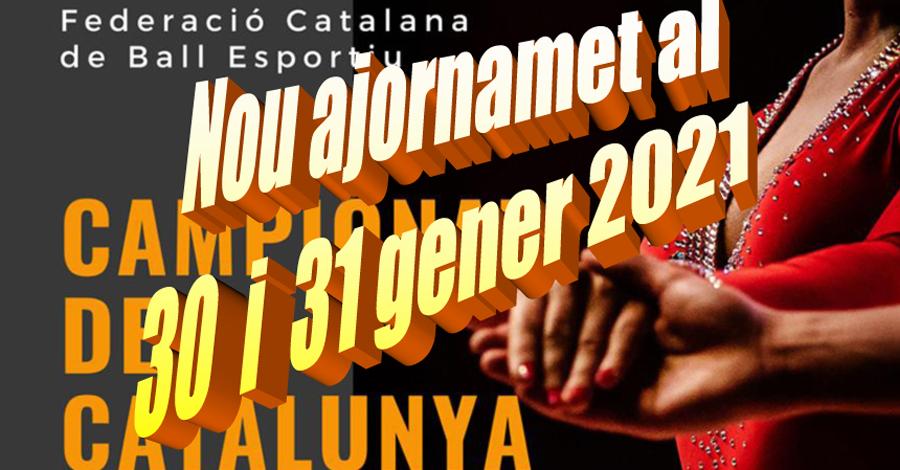 Campionats de Catalunya a Platja d'Aro. Nou ajornament
