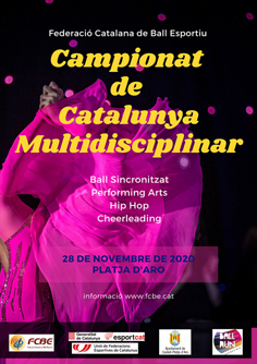 Campionats de Catalunya Multidisciplinars 2020 (Ajornat al 30/01/021)