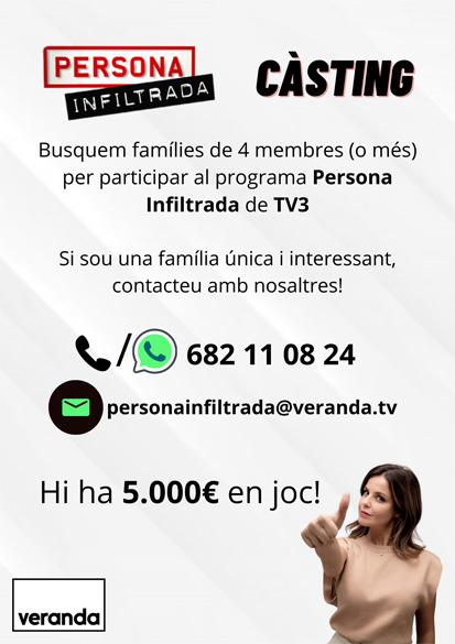 Càsting de TV3 per al programa Persona Infiltrada   Federació Catalana de Ball Esportiu