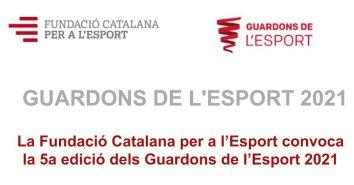 Convocatòria Guardons de l'esport 2021   Federació Catalana de Ball Esportiu