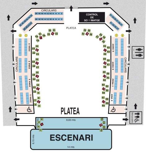 Open Multidisciplinar/Gala de la FCBE 2021. Entrades   Federació Catalana de Ball Esportiu