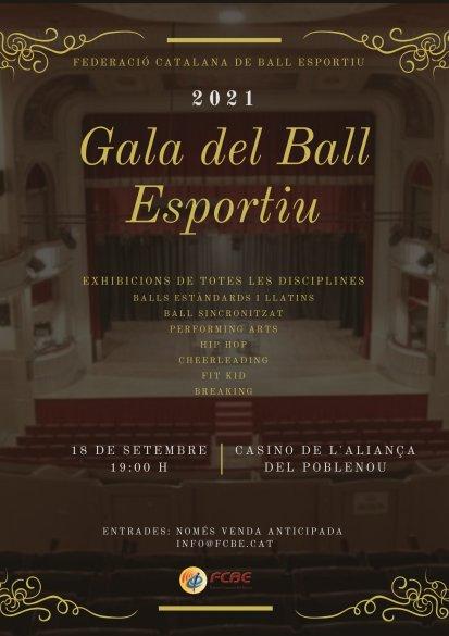 Gala del Ball Esportiu de la FCBE 2021   Federació Catalana de Ball Esportiu