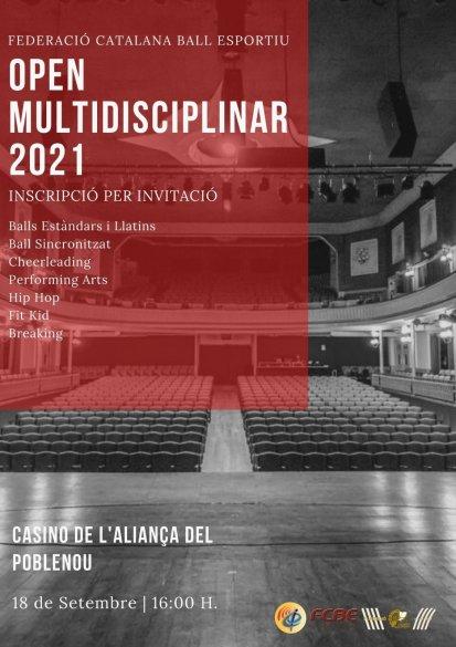 Open Multidisciplinar de la FCBE 2021 | Federació Catalana de Ball Esportiu