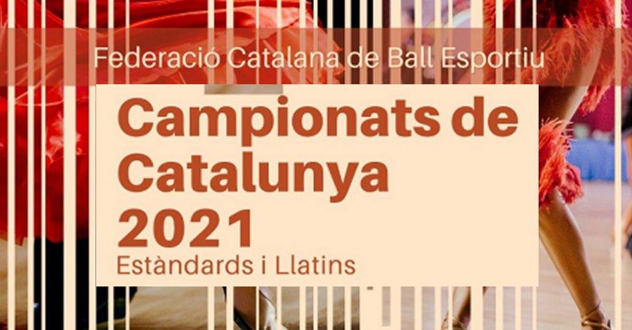 Campionats de Catalunya Absoluts 2021. Llistats definitius i Informació d'interès