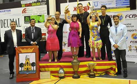 II Campionats de Catalunya 2014. Down Latin  | Federació Catalana de Ball Esportiu