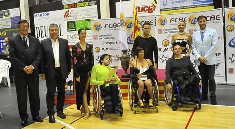 VI Campionats de Catalunya 2014. Wheelchair Combi Latin  | Federació Catalana de Ball Esportiu