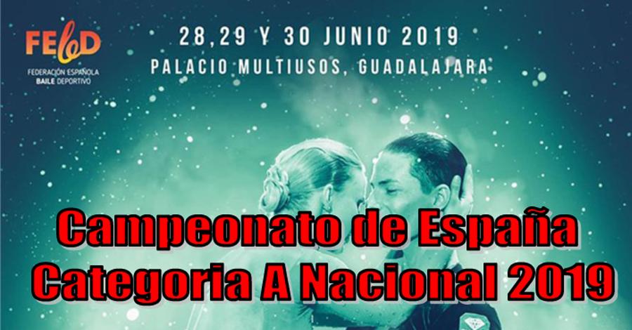 Resultats Campionat d'Espanya Categoria A Nacional 2019