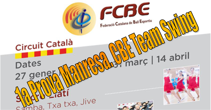 1a Prova. Manresa Team Swing
