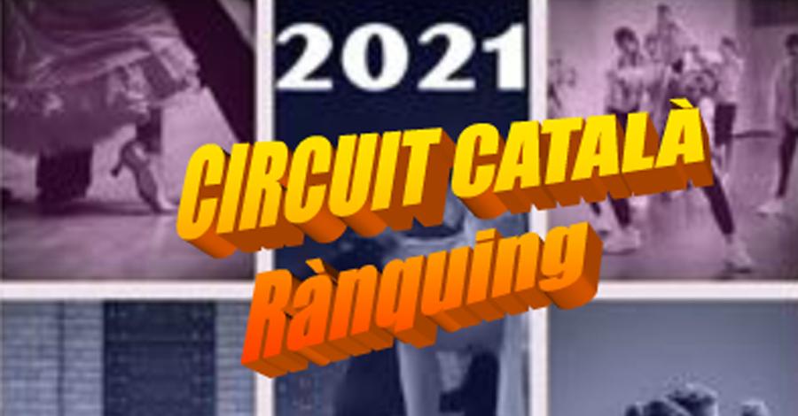 Circuit Català 2021. Rànquing desprès de la 1a Prova