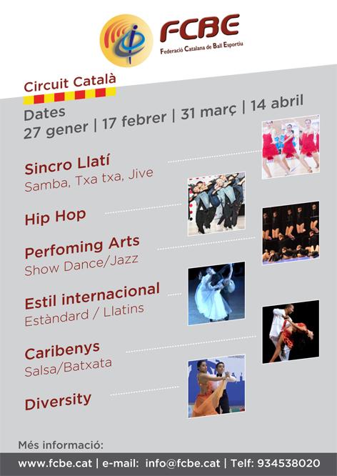 Circuit Català Temporada 2019  | Federació Catalana de Ball Esportiu
