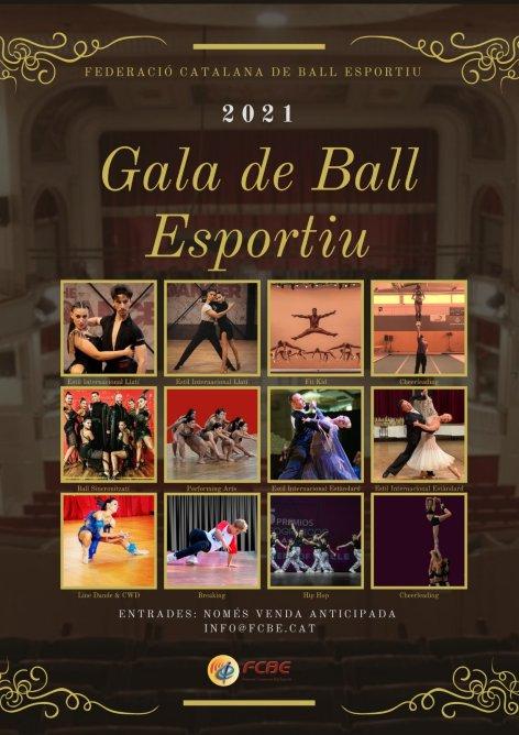 Gala de Ball Esportiu de la FCBE 2021. T'ho perdràs? | Federació Catalana de Ball Esportiu