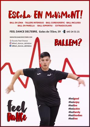 Club de Ball Esportiu FEEL DANCE   Federació Catalana de Ball Esportiu