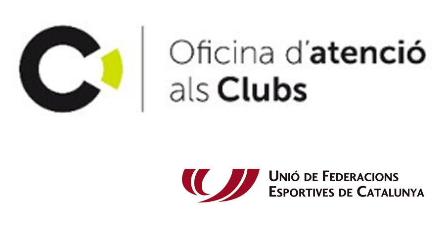 Oficines de la UFEC per l'atenció als clubs esportius federats