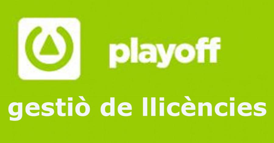 Accés a l´aplicació PlayOff