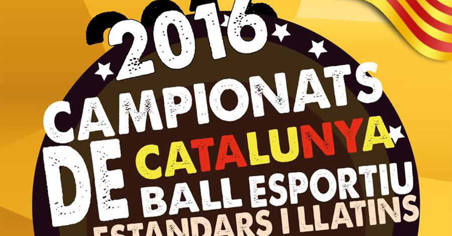 Recull de noticies dels Campionats de Catalunya 2016 (Estàndards i Llatins)