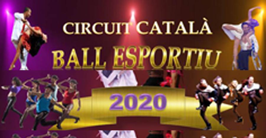 Circuit Català de Ball Esportiu 2020. Dates i seus