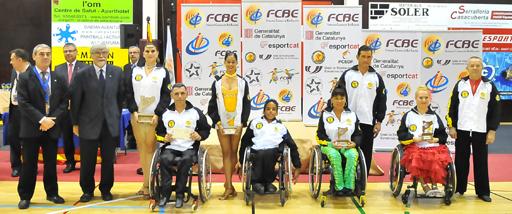 Resultats Campionats de Catalunya 2012 (Wheelchair)  | Federació Catalana de Ball Esportiu